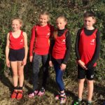 U11s - Meriel Sheard, Grace Marshall, Lara Hindmarsh, Tom Broadley