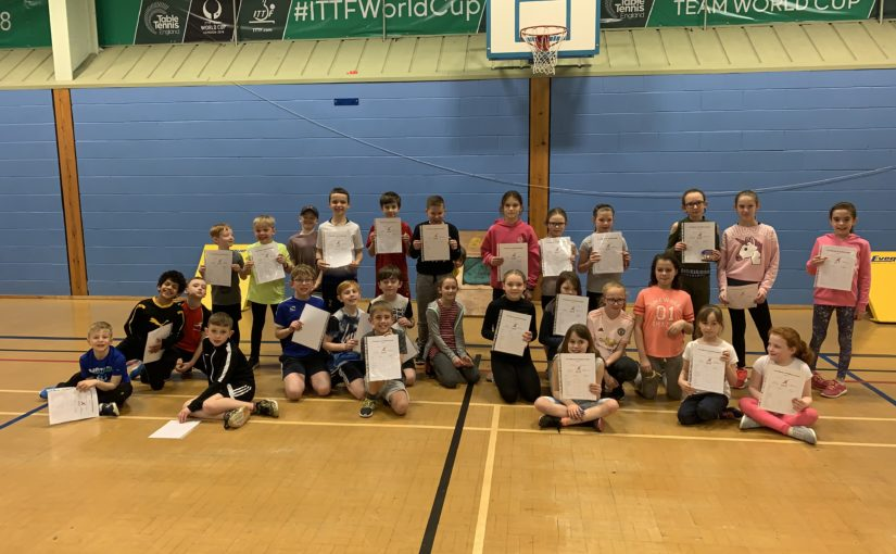 GAC Sportshall Award Scheme for Years 1-6