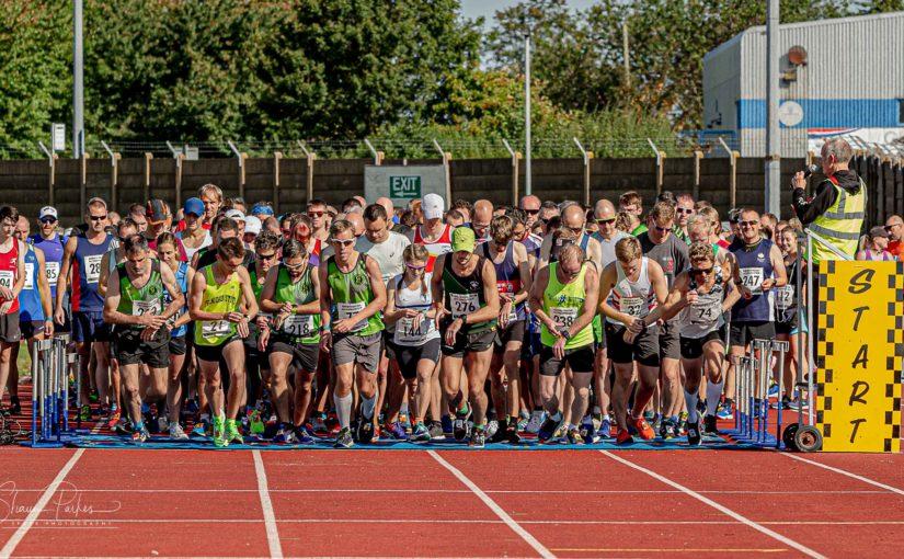 Newton's Fraction is Great Midlands Run